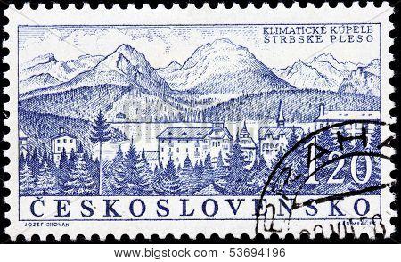 Strbske Pleso Stamp