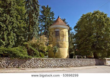 Town Of Vrbovec Historic Park Tower