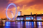 stock photo of london night  - London - JPG