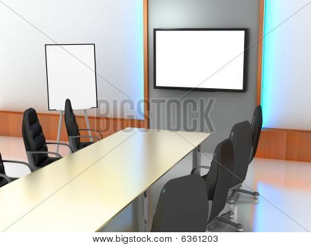 Office-room, Presentation