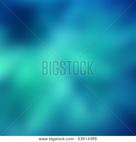 Magic Blue Blur Abstract Background