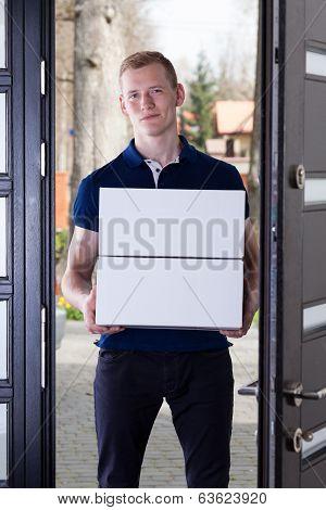 Courier Delivered Order