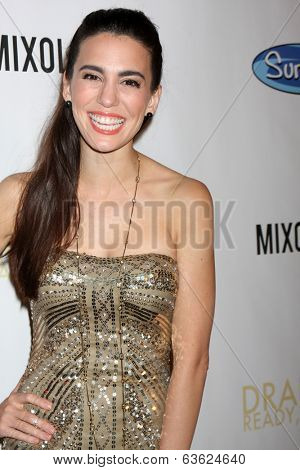 LOS ANGELES - APR 17:  Christy Romano at the  Drake Bell's Album Release Party for