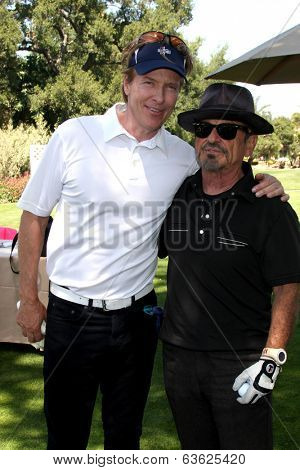 LOS ANGELES - APR 14:  Jack Wagner, Joe Pesci at the Jack Wagner Anuual Golf Tournament benefitting LLS at Lakeside Golf Course on April 14, 2014 in Burbank, CA