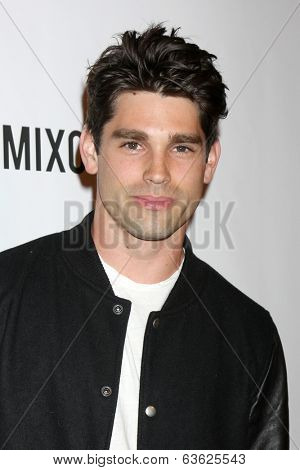 LOS ANGELES - APR 17:  Justin Gaston at the Drake Bell's Album Release Party for