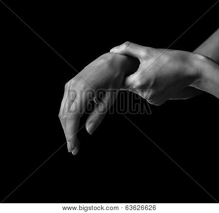 Pain In A Female Wrist