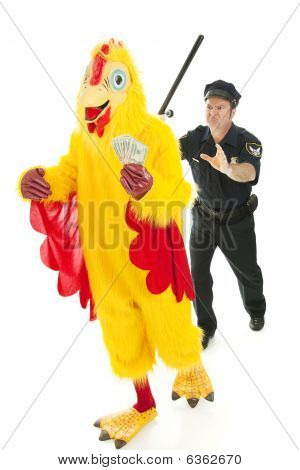 Chicken Man On The Lam