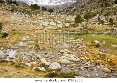 Pyrenees - Andorra, Autumn Day