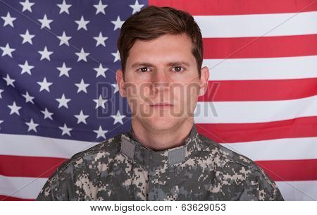 Portrait Of Solider