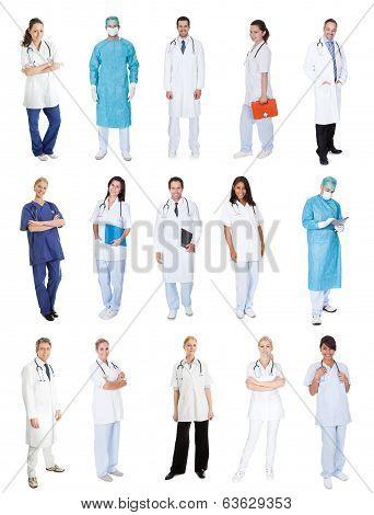 Medical Workers, Doctors, Nurses