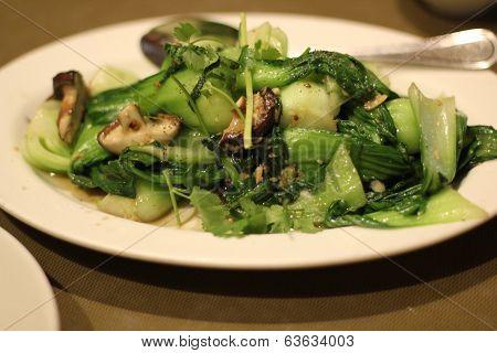 bok choy Vietnamese dish
