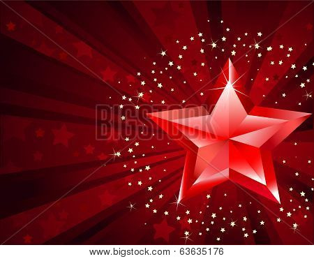 Red Pure Star