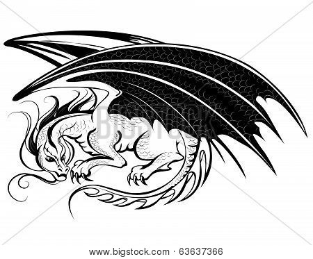 Stylized Dragon