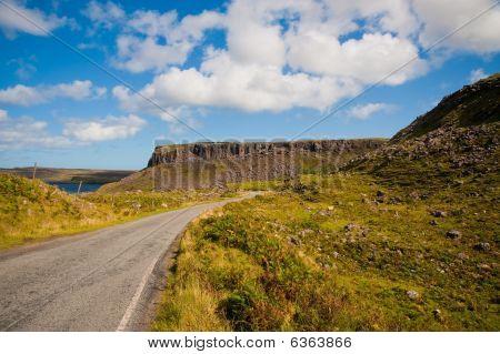 Skye Hillside And Road