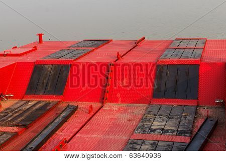 Floor Of A Pontoon