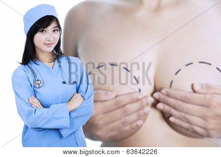 Plastic surgery: Breast Enlargement