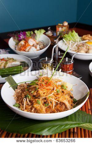 Chicken Pad Thai Dish