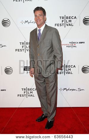 NEW YORK-APR 17: Producer Jim Lefkowitz attends the 'When the Garden Was Eden' premiere at the 2014 TriBeCa Film Festival at the BMCC Tribeca PAC on April 17, 2014 in New York City.
