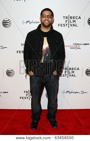 NEW YORK-APR 17: Michael Smith attends the 'When the Garden Was Eden' premiere at the 2014 TriBeCa Film Festival at the BMCC Tribeca PAC on April 17, 2014 in New York City.