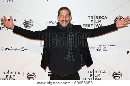 NEW YORK-APR 17: Producer Jason Bergh attends the 'When the Garden Was Eden' premiere at the 2014 TriBeCa Film Festival at the BMCC Tribeca PAC on April 17, 2014 in New York City.