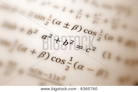 Pythagoras Equation