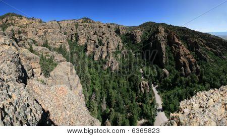 Maple Canyon Panorama