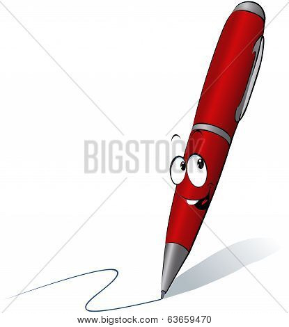 Funny Red Pen