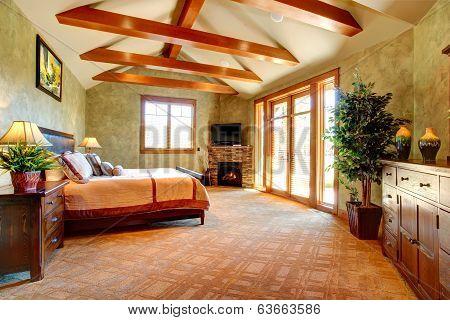 Tropical Bedroom Interior