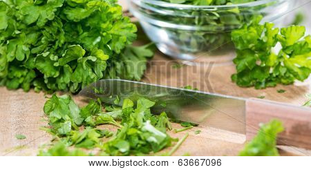Parsley On A Slat