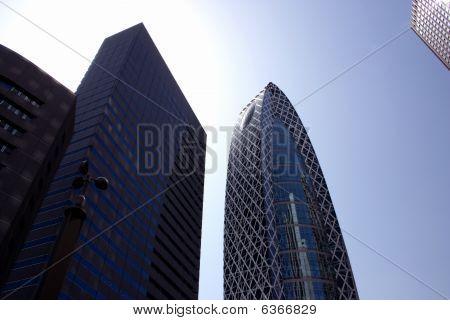Modern Tokyo Skyscrapers