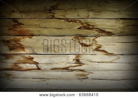 Damp Effects On Wood Wall