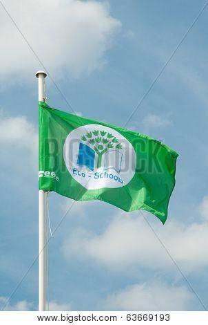 Eco-schools Flag