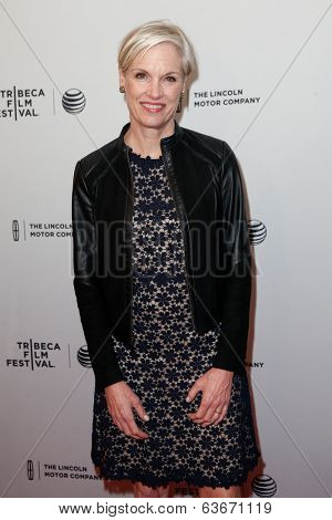 NEW YORK-APR 18: Cecile Richards attends the