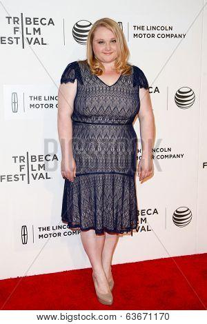 NEW YORK-APR 20: Actress Danielle Macdonald attends the
