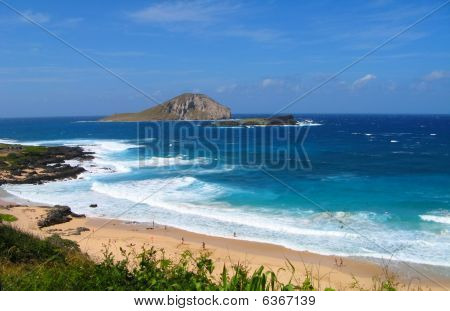 Oahu, North East Coast and shoreline