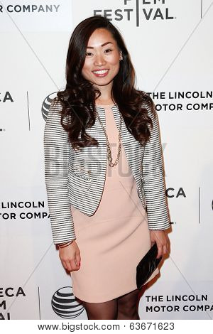 NEW YORK-APR 20: Producer Mia Chang attends the