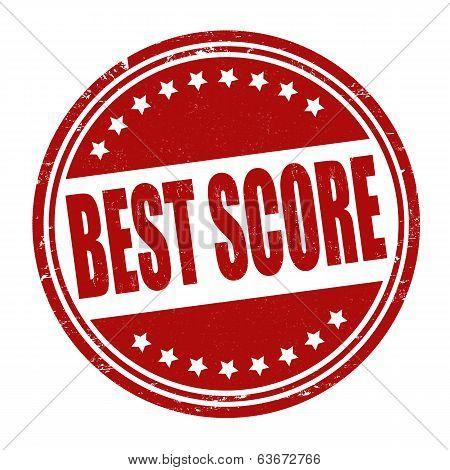 Best Score Stamp