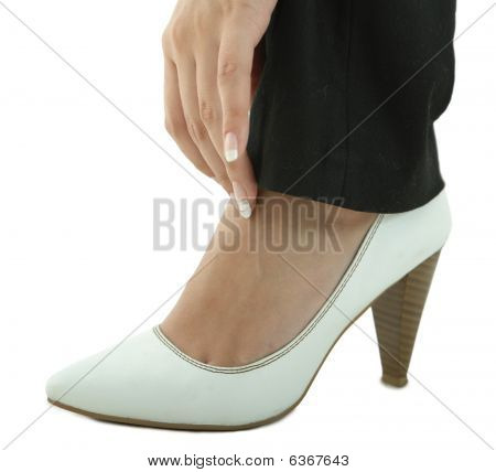 Shoe With Hand
