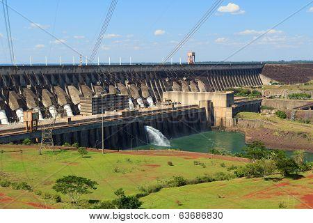 Power Station Itaipu Dam, Brazil, Paraguay
