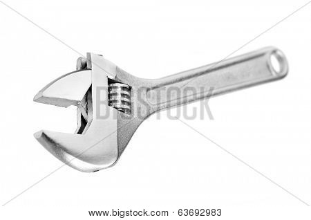 screw key isolated on a white background