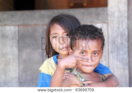 Indonesian kids Flores Indonesia