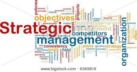 Strategic Management Wordcloud