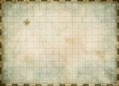 foto of treasure map  - empty old map background - JPG