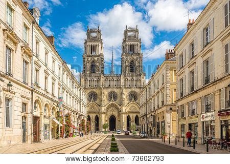 Cathedral Sainte Croix D Orleans