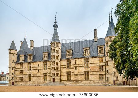 View At The Ducal Palace In Nevers