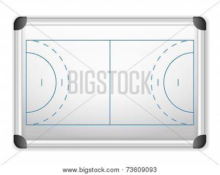 Whiteboard Handball