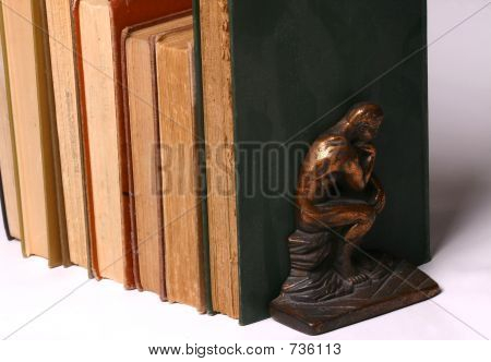 The Thinker and Books