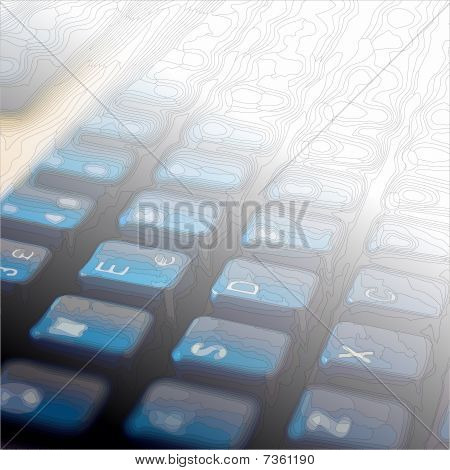 outline keyboard