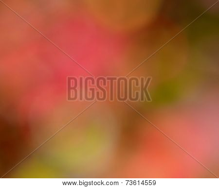 Bokeh Autumn Background