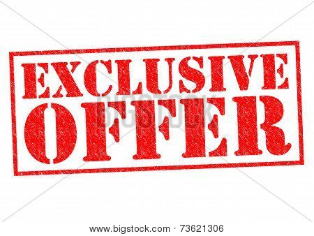 Exclusive Offer